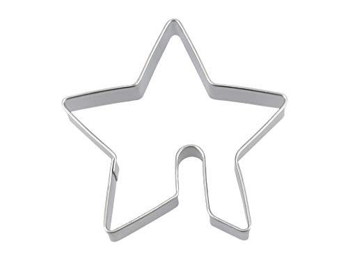 Pati-Versand Tassenkeks-Ausstecher Stern 6cm