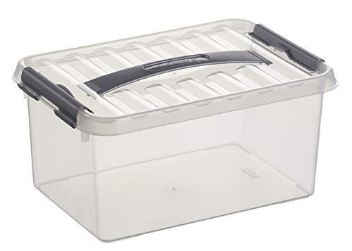 Helit sunware Box 6l H6160102 mit Griff, durchsichtig