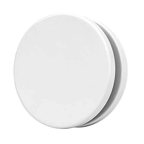 Ø 125mm Zuluftventil Tellerventil Deckenventil Zuluft Weiß Stahlblech Rund für Rohranschluss Ø DIN 125mm