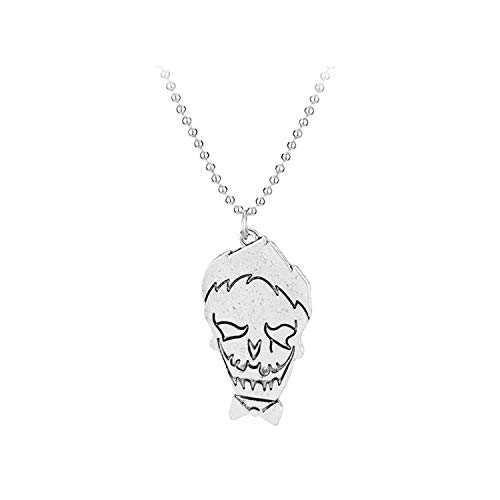 Necklace Suicide Squad Joker Harley Quinn Cute Cartoon Figure Pendant Necklaces