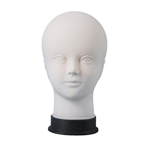 Trainingsköpfe, OverDose Mannequin Makeup Praxis Modell Kopf weiblich Kopf Modell Perücke Display Kopf Modell schminkkopf übungskopf