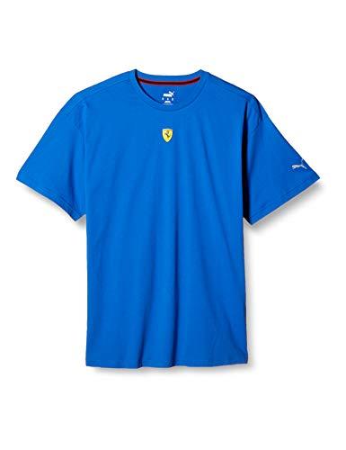 PUMA Ferrari Race Street tee Camiseta, Hombre, Gris, 2XL