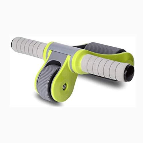 SHYPT Triangular AB Roller Fitness Equipo Pesado Entrenador Abdominal Exterior Cubierta Máquina de Entrenamiento (Color : A)