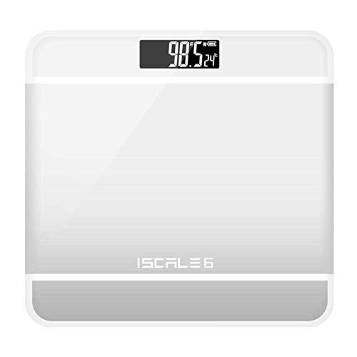 LQH Waage Elektronische Waagen, LED Digitalanzeige Gewicht Boden Smart-Skala-Balance Körper Haushalt Badezimmer-Skala, 180Kg / 400LB