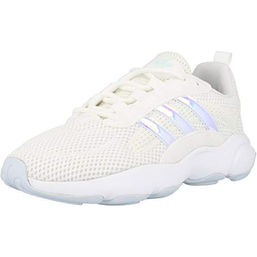adidas Originals Haiwee J Blanco/Azul (White/Sky Tint) Tela 37⅓ EU