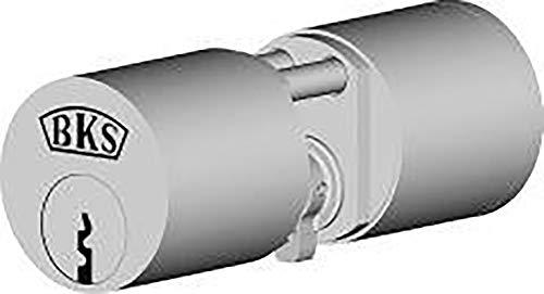 BKS Rundzylinder 31770115 N, Vern, BL 25/25 mm, mit 3 Schlüsseln