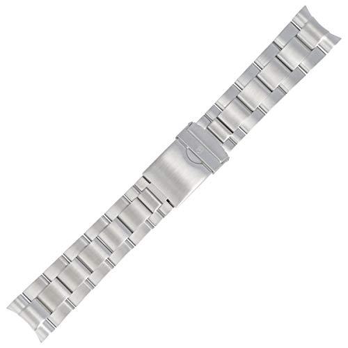 Victorinox Uhrenarmband 22mm Edelstahl Silber - 004230