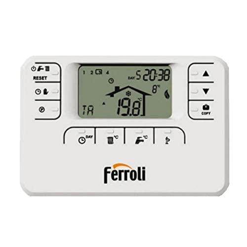 termostato wifi ferroli Cronocomando a fili romeo