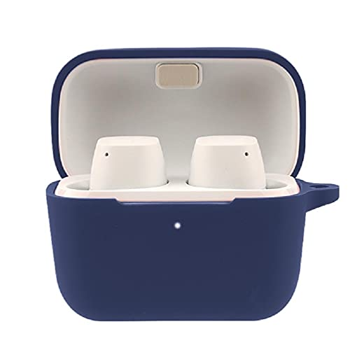 Funda compatible con auriculares Sennheiser-CX True inalámbricos, funda impermeable para auriculares, lavable, funda de silicona de color engomado impermeable lavable