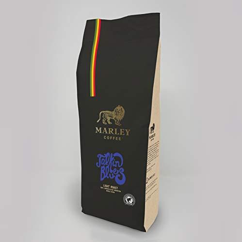 Talkin' Blues Mittlere Röstung Kaffee Bohnen, 100% Jamaica Blue Mountain Kaffeebohnen, Marley Coffee, von der Familie von Bob Marley,1kg light roast coffee beans
