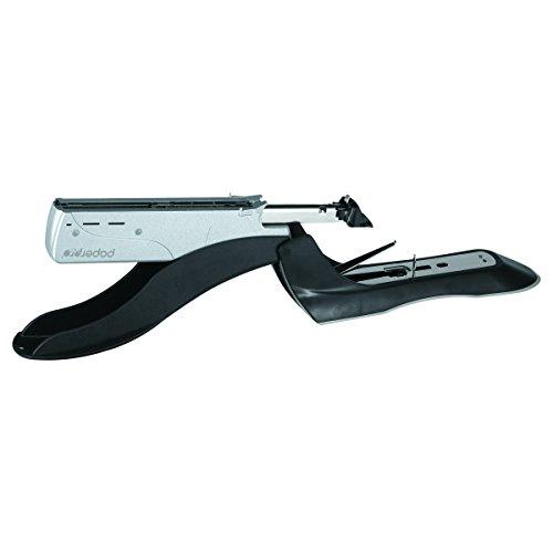 PaperPro inHANCE+100 Heavy Duty Stapler - Two Fingers, No Effort, Spring Powered Stapler - 100 Sheets, Gray (1300) Photo #3