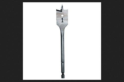 MILWAUKEE ELECTRIC TOOL 48-27-0501 288424 Stubby Flat Boring Bit, 1/2' x 6'