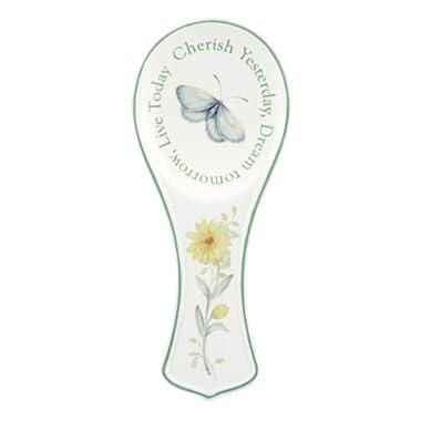 Lenox Butterfly Meadow Sentiment 8.25  Spoon Rest
