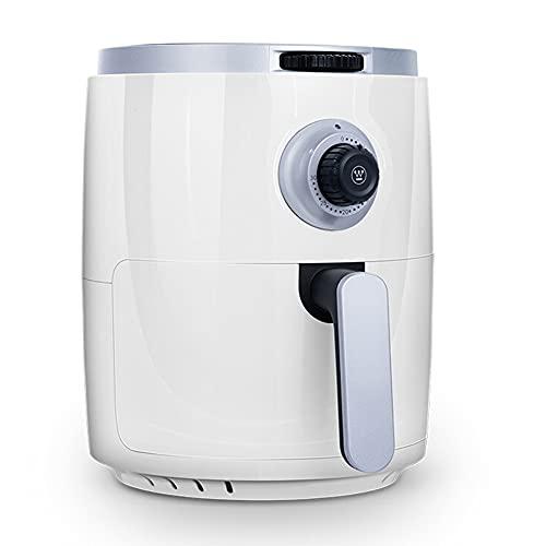 Freidora de aire 3QT, freidora saludable compacta personal de 1200 W, con temporizador y controles de temperatura, cocina antiadherente sin aceite para horno, para freír, asar