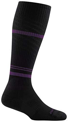 Darn Tough Element OTC Lightweight Sock with Cushion & Graduated Light Compression - Women's Black Medium