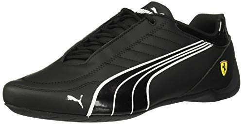 PUMA Men's SF Future Kart CAT Sneaker, Black White-Rosso Corsa, 8 M US