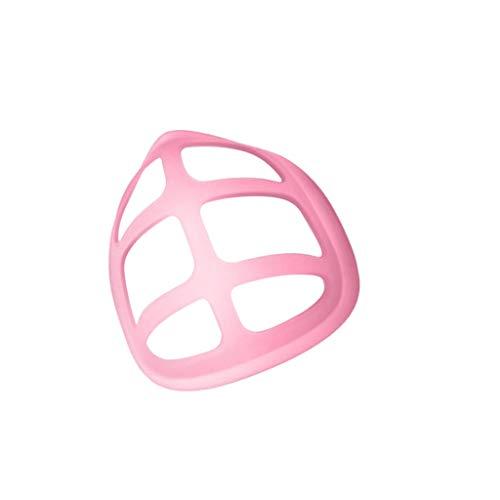 ZWXIN 3/5PC Mundschutz Innenpolster PP Halterung Mund Sicht Verlängerungshalterung Skelett Atmungsaktiver Schutz Staubdichter Lippenstift