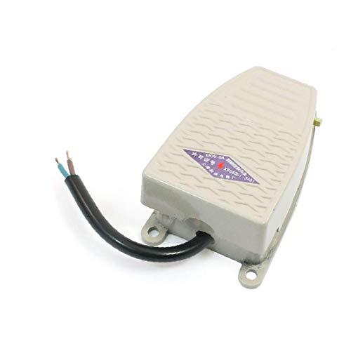 SPST 1NO 1NC alto rendimiento 380VAC 220V DC esencial acción momentánea interruptor de pedal antideslizante bien hecho (6aa-6c-52-f32)