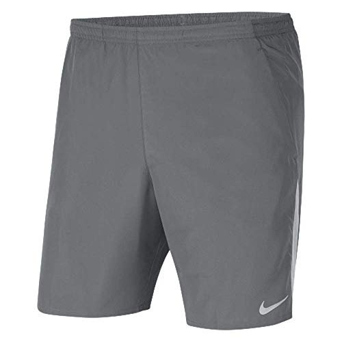 Nike Pantalones cortos de running para hombre CK0450 (gris, M)