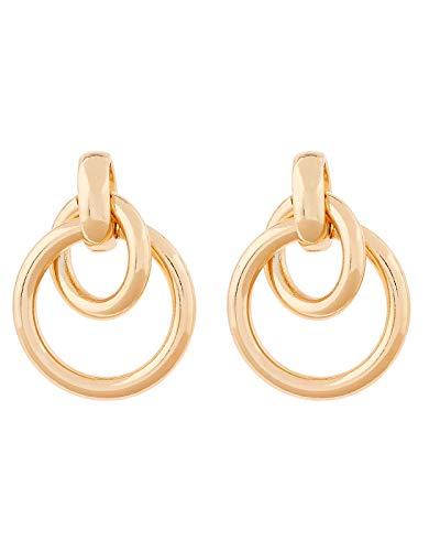 Accessorize Hooped Doorknocker Earrings