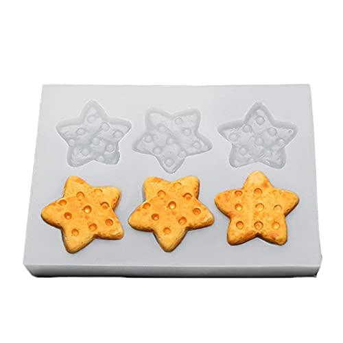 Stampo in silicone a forma di Oreo per biscotti e cioccolatini, per creare gelatine e torte, ideale come decorazione per forno a vapore.