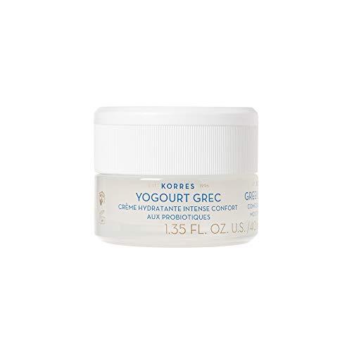 Korres GREEK YOGHURT Beruhigende und intensiv nährende probiotische Feuchtigkeitscreme, 1er Pack (1 x 40 ml)