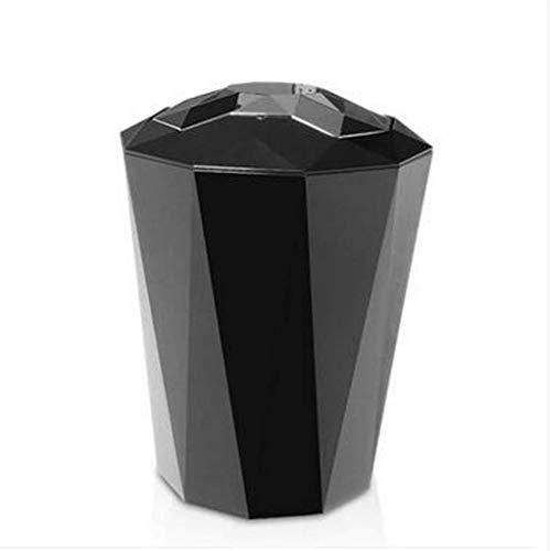 RFJJAL Büro Badezimmer Ist Abfall, Plastikfurnierblatt-Spiegel-Abdeckung Behälterart