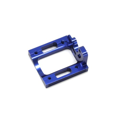 Aluminum Motor Mount (Mini Inferno / Blue / 1pc) IHW04 (japan import)