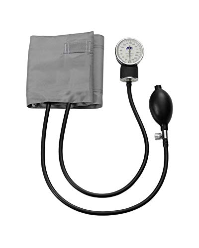 A&D Medical Professional Aneroid Sphygmomanometer with Adult Cuff (UA-201)