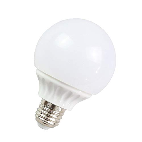 LED Bulb Lamps, Dimmable LED Bulb E27 Screw Light Bulb, SMD2835 5W 7W 9W LED Lamp Saving Cold, Smart IC Chip Spotlight Lamp, G80 Retro Light Bulb,Warm light,5W/10PCS