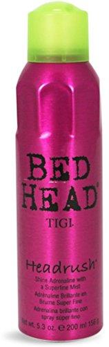 TIGI Bed Head Headrush Spray Shine Mist, 5.3 oz (Pack of 3)