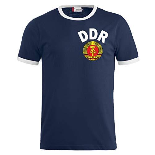 Männer und Herren T-Shirt DDR Trikot Größe S - 3XL