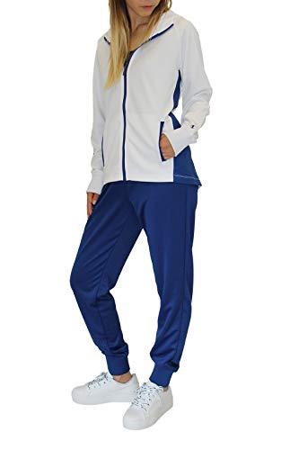 CHAMPION Sweat zippé à capuche Blanc Taille L