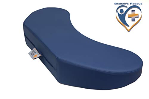 Jewell-Nursing-Solutions-Bed-Sore-Rescue-Turning-Wedge-Positioning-Hospital-Pad-with-Contoured-Sacral-Coccyx-Area-and-Pressure-Distribution-Layered-Foam-to-Deter-Bed-Sores