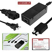 Xavengar AC Adapter Power Supply Cord for Xbox One Console with Power Cable