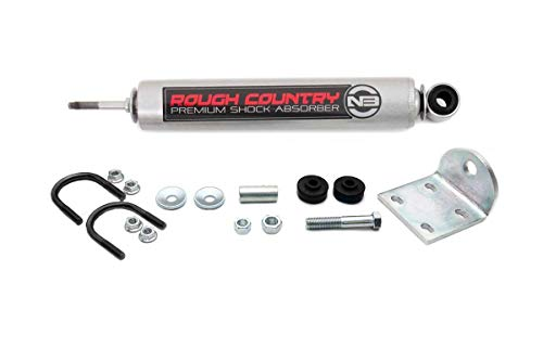 Rough Country N3 Steering Stabilizer (fits) 1999-2004 Super Duty F250 F350 / 00-05 Excursion 4WD Premium Damper 8748930, Single