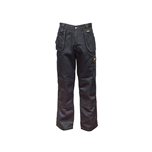 DeWalt THURLSTON - Pantalón elástico 3D (34 W/31 L), color negro
