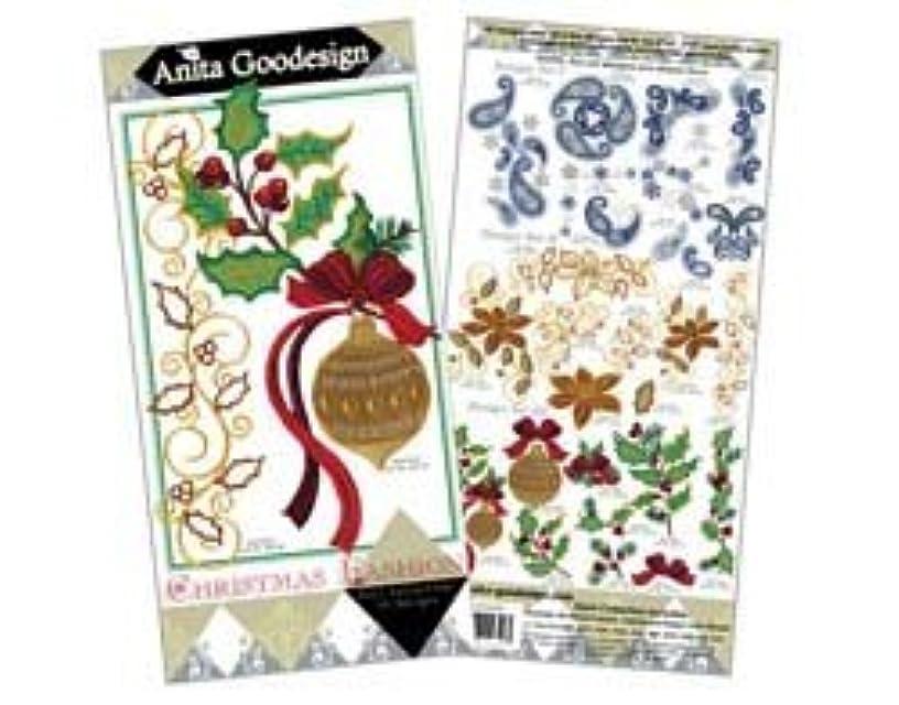 Anita Goodesign Embroidery Designs Cd Christmas Fashion