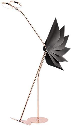 WEHOLY Boden Led Innenbeleuchtung Postmoderne Beleuchtung Designer Persönlichkeit Lampe Modell Zimmer Rose Gold Net Red Strauß Wohnzimmer Boden Boden Led