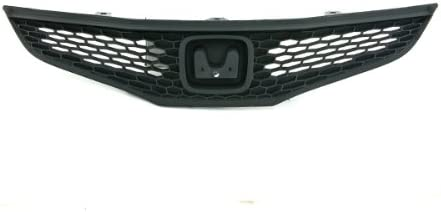 Max 74% OFF CarPartsDepot 400-201697 Large-scale sale 09-11 Compatible Fit Grill With Honda