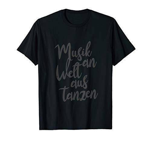 Elektronische Tanzmusik Elektro Beats Music Club Tanz Spruch T-Shirt