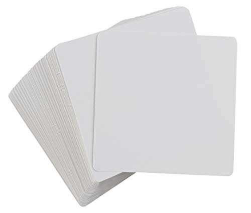 Juvale Dry Erase Flash Cards (3 x 3 in, 400 Pack)