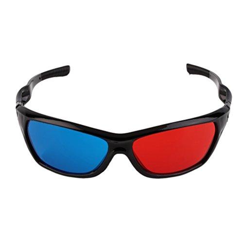 Nuolux Passive 3D Glasses for Kids Universal for Passive TVs Cinema (Red +...