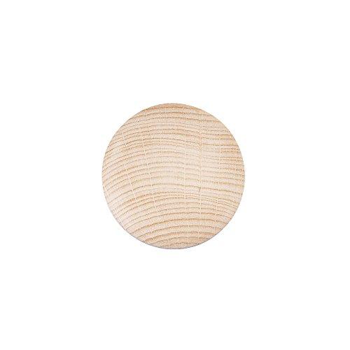RAYHER - Holz-Platine, rund, gewölbt, , 50 mm
