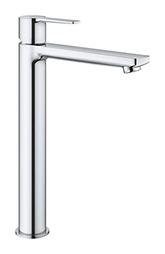 Grohe Lineare - Grifo de lavabo, monomando con caño extra alto, para lavabos tipo bol de sobremueble (Ref. 23405001)