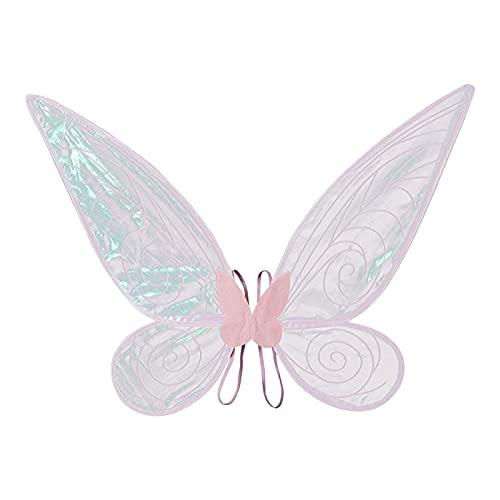 A/F Alas De Mariposa, Alas De ngel Transparentes Y Brillantes, Alas De Mariposa Grandes, Diseo nico, Vestido Elegante, Disfraz De Princesa para Mujer, Disfraz De Fiesta para Nias