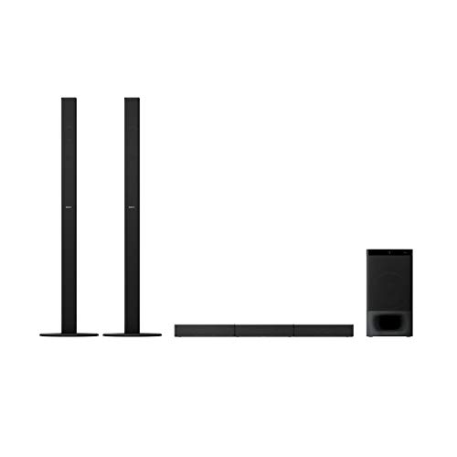 Sony HT-S700RF Real 5.1ch Dolby Audio Soundbar for TV with Tall boy Rear Speakers & Subwoofer, 5.1ch Home Theatre System (1000W, Bluetooth & USB Connectivity,HDMI & Optical Connectitvity)