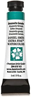 DANIEL SMITH 284610163 Extra Fine Watercolors Tube, 5ml, Amazonite Genuine