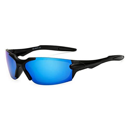 YTYASO Gafas de Sol Deportivas polarizadas Gafas de Sol Espejo Gafas a Prueba de Viento Gafas de Sol UV400 para Hombres y Mujeres Gafas
