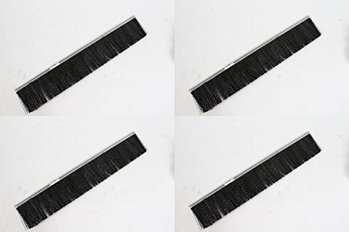 "Agri-Fab 4 Pack Genuine 48557 21-3/4"" Sweep Brush for 42"" Lawn Sweeper Craftsman"